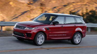 Range Rover Sport PHEV - front action