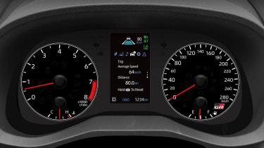 Toyota GR Yaris - dials studio