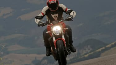 Ducati Monster 821 review - head on