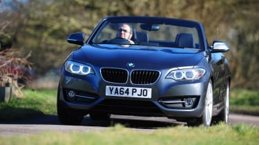 BMW 220d Convertible front