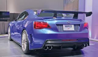 Subaru BRZ STI front