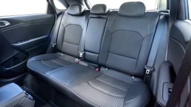 Space in the Ceed's back seats remains unchanged; there's enough room for a couple of adults, although rivals such as the Skoda Octavia feel even more roomy