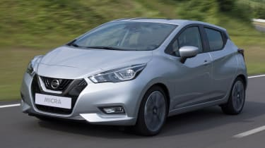 Nissan Micra 2017 - front tracking 2