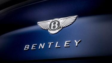 Bentley Continental GT Speed convertible - boot badge