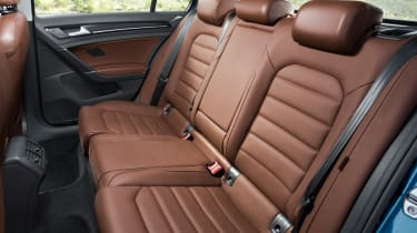 Volkswagen Golf 1.4 TSI rear seats