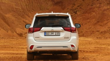Mitsubishi Outlander PHEV - full rear static