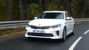 Kia Optima GT - front action