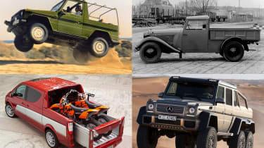 Mercedes pick-ups header