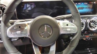 Mercedes A-Class Saloon - steering wheel