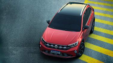 Volkswagen Nivus - front above