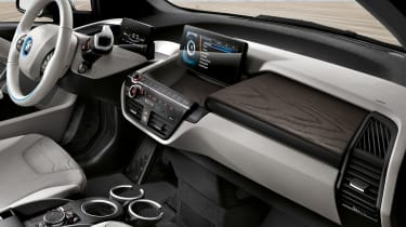BMW i3 94Ah - interior