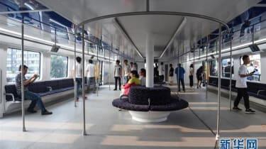 TEB-1 Transport Elevated Bus interior