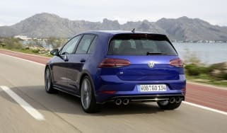 Volkswagen Golf R Performance Pack rear