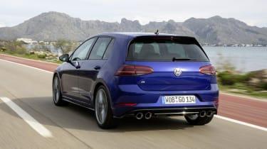 Volkswagen Golf R Performance Pack rear