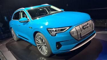 Audi e-tron - reveal front
