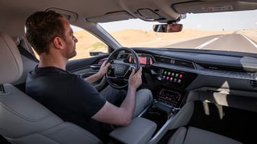 Audi e-tron - driving