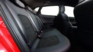Used Kia Cee'd - rear seats