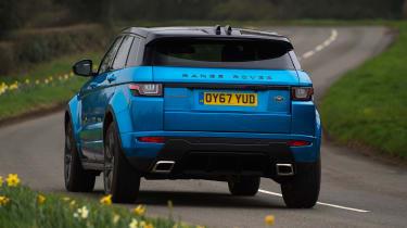 Range Rover Evoque - rear