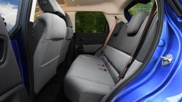 Honda e - rear seats