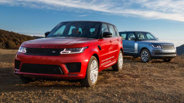 New Range Rover PHEV 2017 review - RRS and RR
