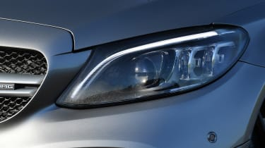 mercedes-amg c 43 coupe headlight