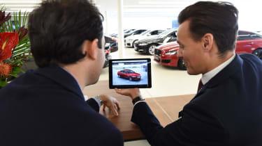 Long-term test review: Jaguar XF - first report dealer ipad