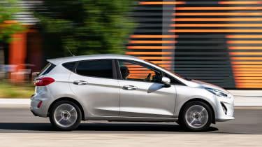 Ford Fiesta Trend - side shot