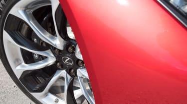 Lexus LC 500 - wheel