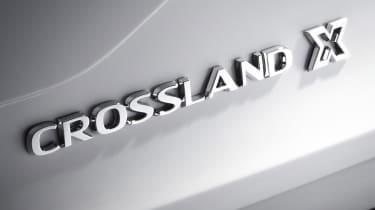 Vauxhall Crossland X - badge