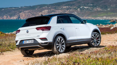 Volkswagen T-Roc - rear static