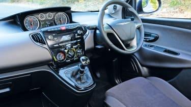 Chrysler Ypsilon TwinAir dash