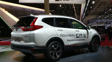 Honda CR-V Hybrid - Paris - Rear