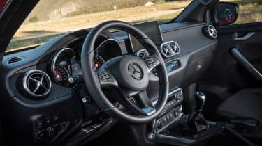 Mercedes X-Class pick-up truck - interior