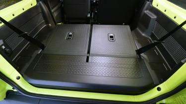 Suzuki Jimny - boot seats down