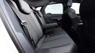 Peugeot 3008 - back seats