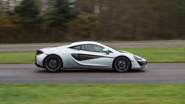 McLaren 540C - side