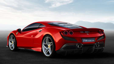 Ferrari F8 Tributo - rear