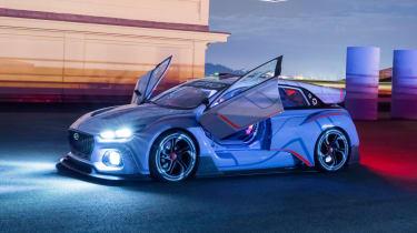 Hyundai RN30 Concept - night front