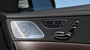 Mercedes S-Class - door detail