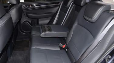 Long-term test review: Subaru Outback rear seats