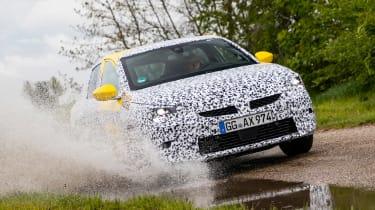 Vauxhall Corsa prototype - water