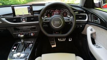 Audi RS6 Avant Performance 2016 - interior