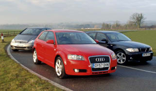 Audi A3 vs BMW 116i vs Mercedes A170