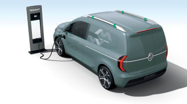 Renault Kangoo ZE Concept - charging