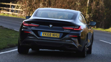 BMW 8 Series - rear action