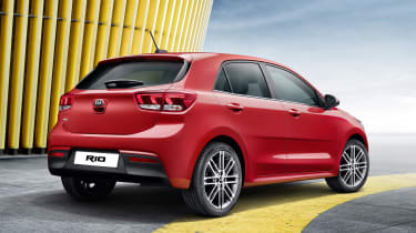 New Kia Rio - rear