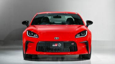 Toyota GR86 nose