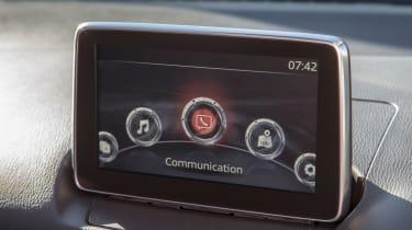Mazda CX-3 - infotainment screen