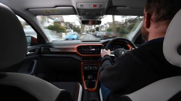 Volkswagen T-Cross 1.0 TSI - long termer first report in-car