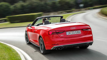 Audi S5 Cabriolet - rear action